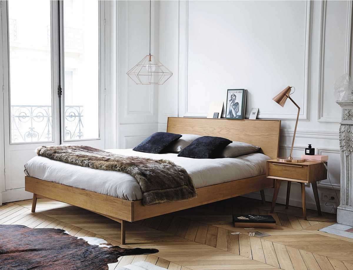 Portobello maisons du monde bed making spaces for Maison du meuble corbeil