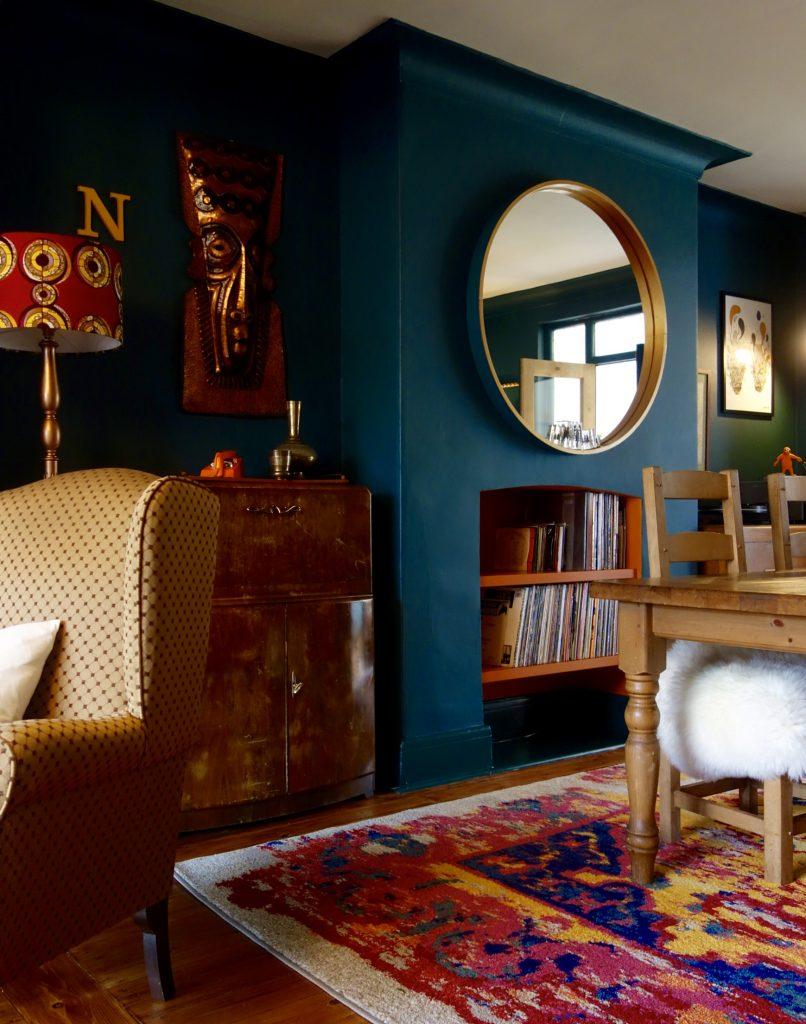 benuta acid vintage rug making spaces. Black Bedroom Furniture Sets. Home Design Ideas