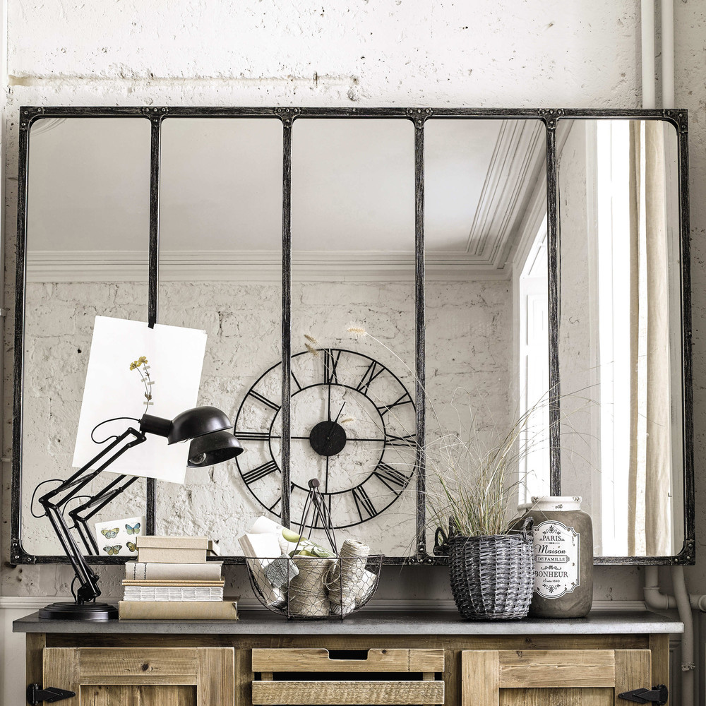 The crittall mirror making spaces for Miroir industriel metal