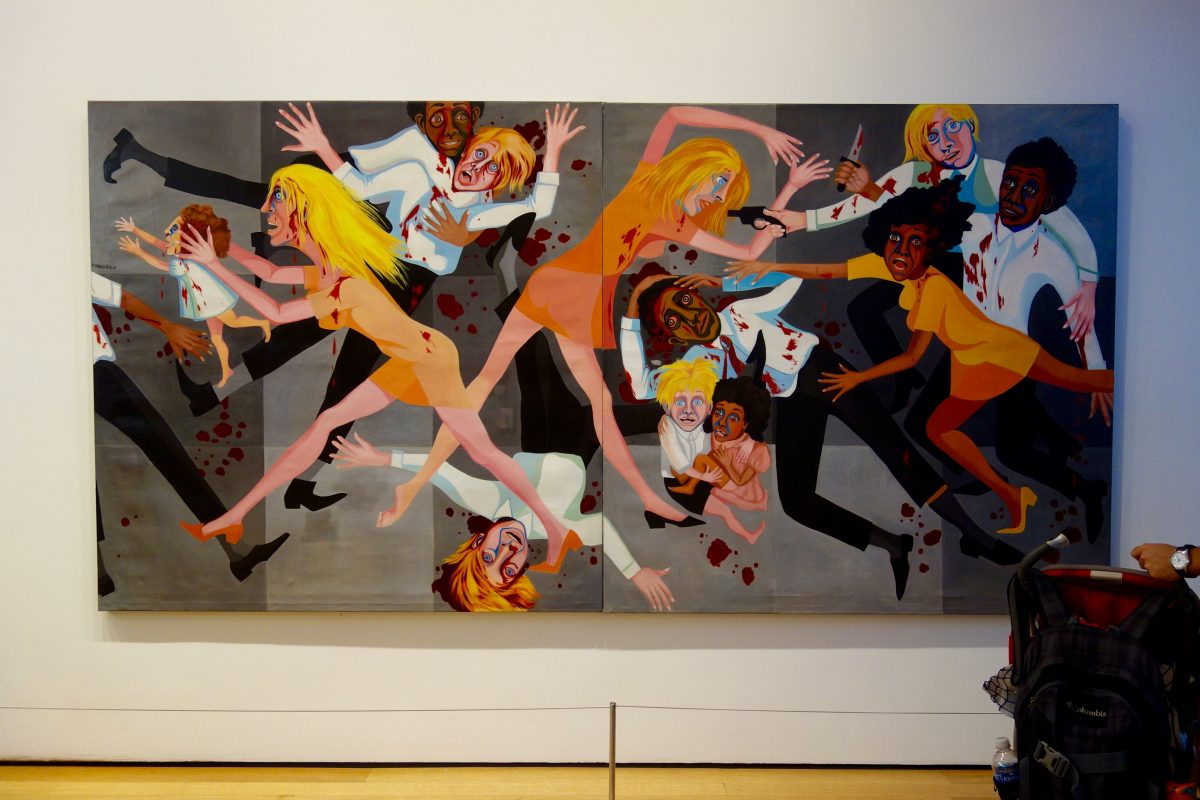 american people series by faith ringgold The frenzied spectacle depicted here evokes the race riots that engulfed the  united states in the 1960s the composition is also reminiscent of.
