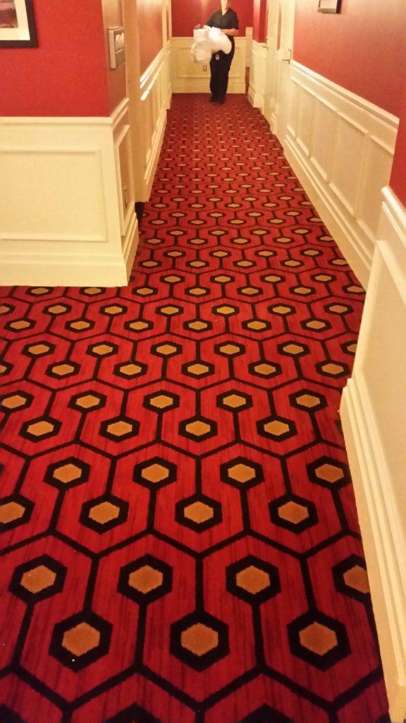 Overlook Hotel Carpet Pattern Vector Vidalondon