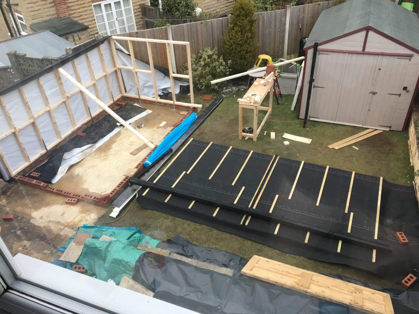 DIY Garden Building